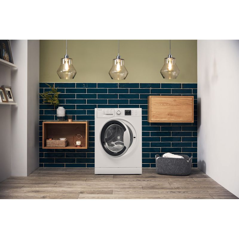 Hotpoint-Washing-machine-Free-standing-NM10-944-WS-UK-White-Front-loader-A----Lifestyle-frontal-open