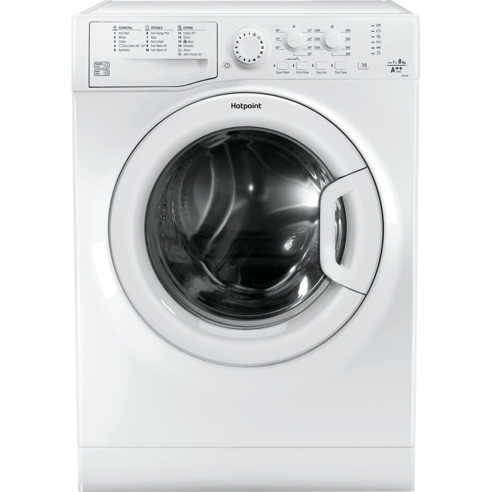 Hotpoint Freestanding Washing Machine FML 842 P UK : discover the specifications of our home appliances and bring the innovation into your house and family.