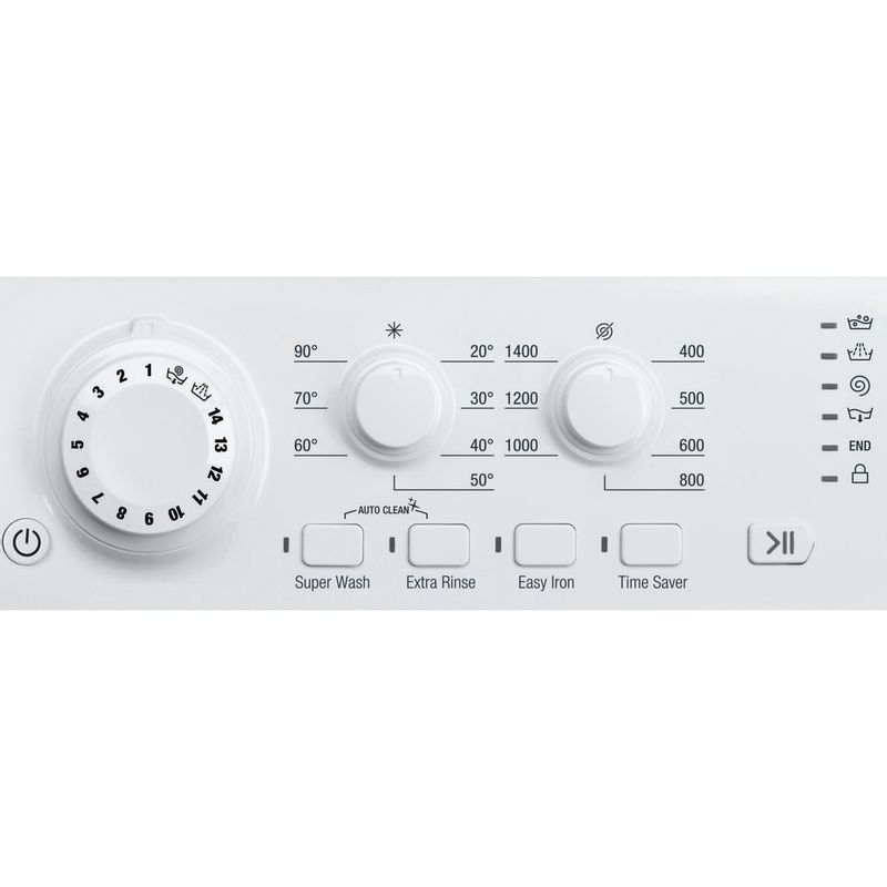 Hotpoint-Washing-machine-Free-standing-FML-842-P-UK-White-Front-loader-A---Control_Panel