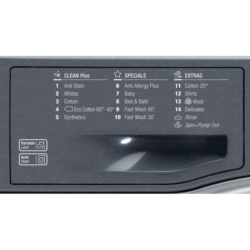Hotpoint-Washing-machine-Free-standing-FML-942-G-UK-Graphite-Front-loader-A---Program