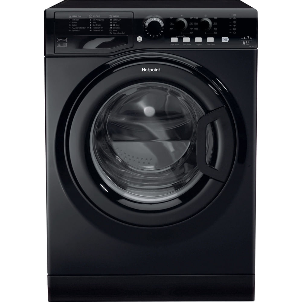 Hotpoint Freestanding Washing Machine FML 742 K UK : discover the specifications of our home appliances and bring the innovation into your house and family.