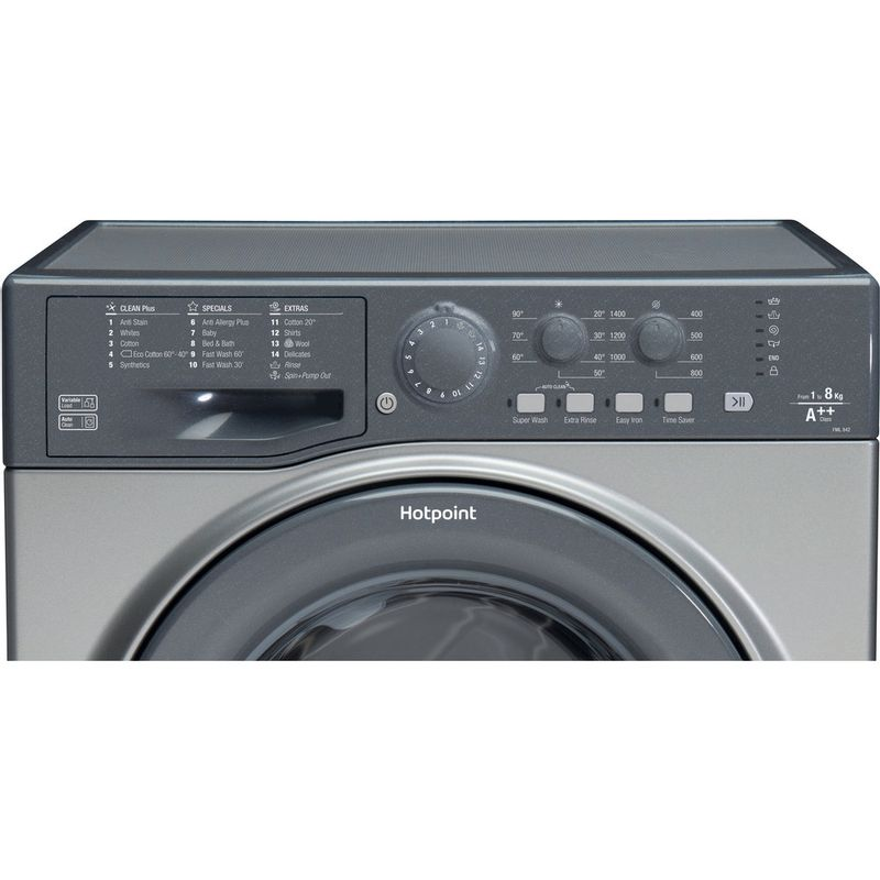 Hotpoint-Washing-machine-Free-standing-FML-842-G-UK-Graphite-Front-loader-A---Control_Panel