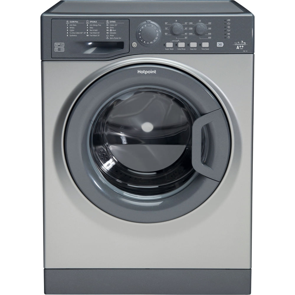 Hotpoint Freestanding Washing Machine FML 742 G UK : discover the specifications of our home appliances and bring the innovation into your house and family.