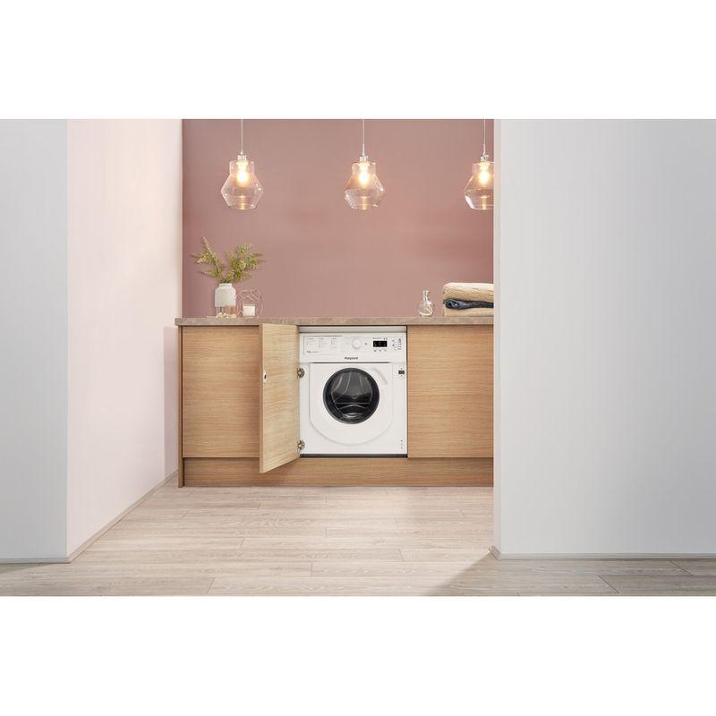 Hotpoint-Washer-dryer-Built-in-BI-WDHG-7148-UK-White-Front-loader-Lifestyle-frontal