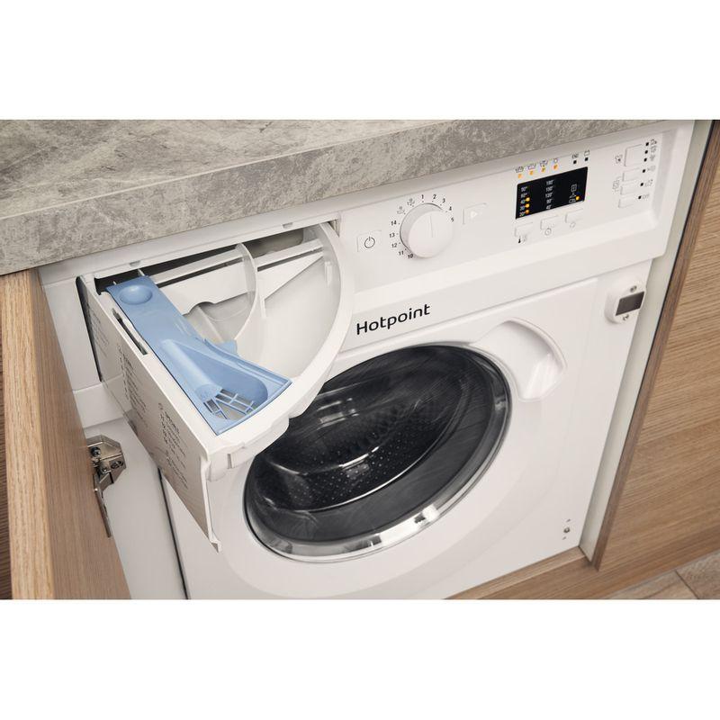 Hotpoint-Washer-dryer-Built-in-BI-WDHG-7148-UK-White-Front-loader-Drawer