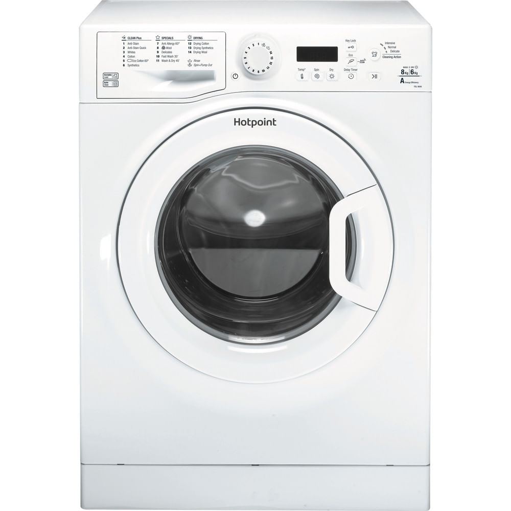 Hotpoint Freestanding Washer Dryer FDL 8640P UK : discover the specifications of our home appliances and bring the innovation into your house and family.