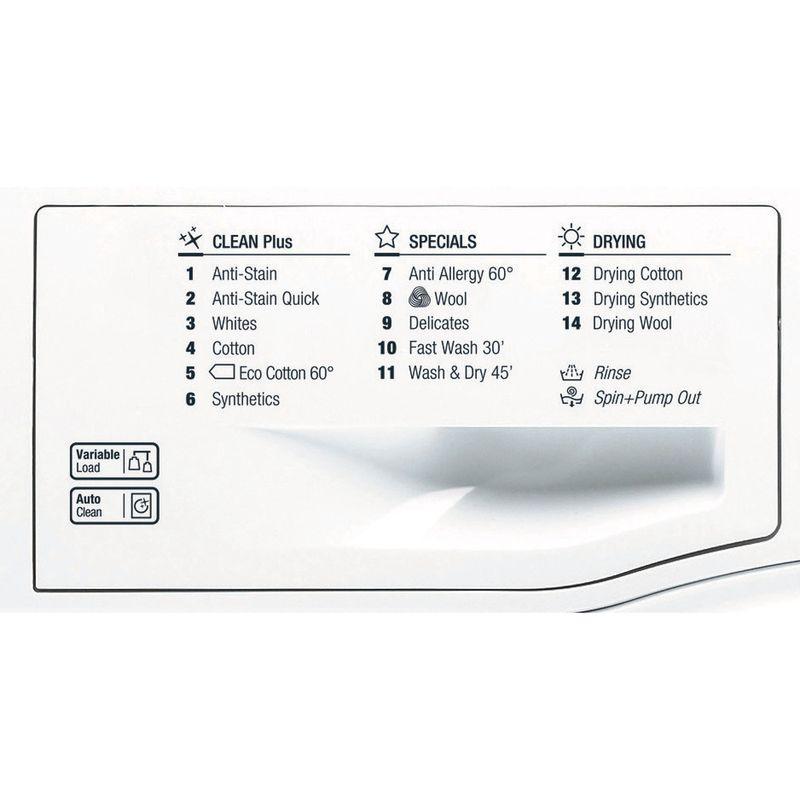 Hotpoint-Washer-dryer-Free-standing-FDL-8640P-UK-White-Front-loader-Program