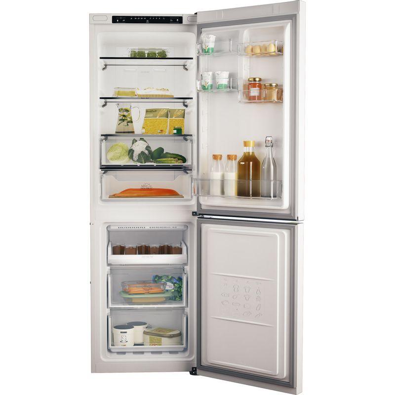 Hotpoint-Fridge-Freezer-Free-standing-H3T-811I-W-Global-white-2-doors-Frontal-open