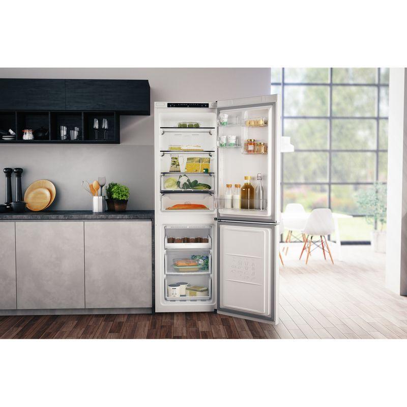 Hotpoint-Fridge-Freezer-Free-standing-H3T-811I-W-Global-white-2-doors-Lifestyle-frontal-open