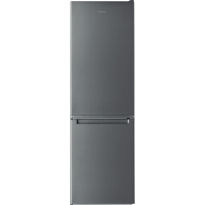 Hotpoint-Fridge-Freezer-Free-standing-H3T-811I-OX-Optic-Inox-2-doors-Frontal
