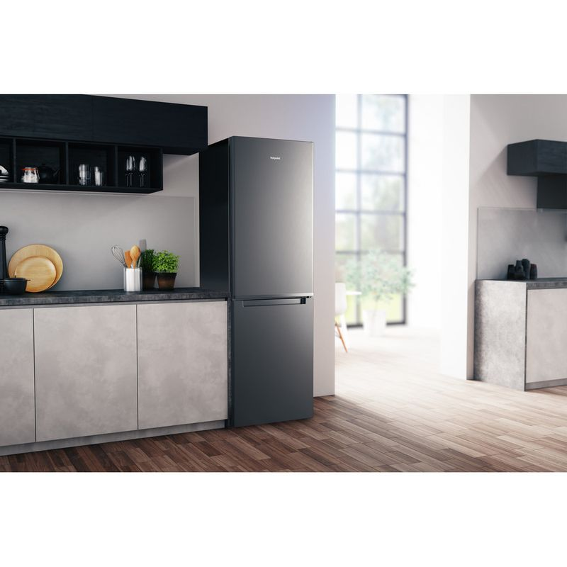 Hotpoint-Fridge-Freezer-Free-standing-H3T-811I-OX-Optic-Inox-2-doors-Lifestyle-perspective