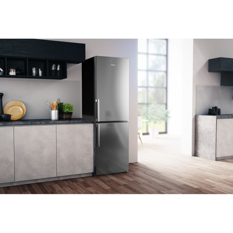 Hotpoint-Fridge-Freezer-Free-standing-H5T-811I-MX-H-Mirror-Inox-2-doors-Lifestyle-perspective