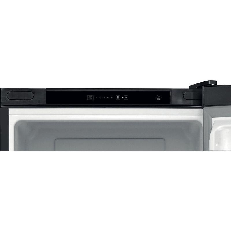 Hotpoint-Fridge-Freezer-Free-standing-H5T-811I-K-H-Black-2-doors-Lifestyle-control-panel