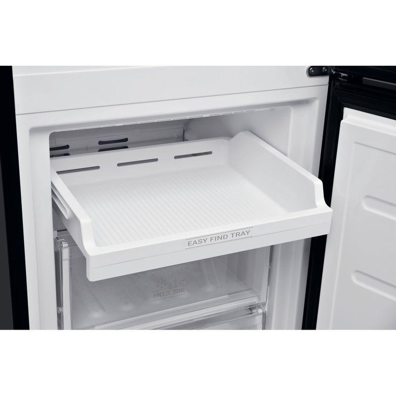 Hotpoint-Fridge-Freezer-Free-standing-H5T-811I-K-H-Black-2-doors-Drawer