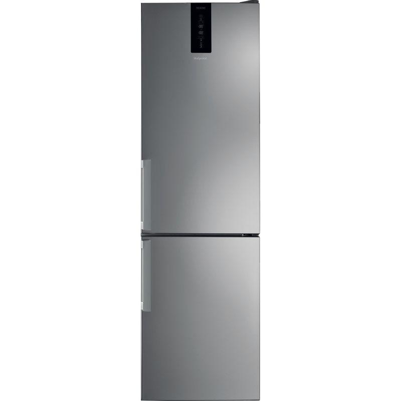 Hotpoint-Fridge-Freezer-Free-standing-H7T-911T-MX-H-Mirror-Inox-2-doors-Frontal