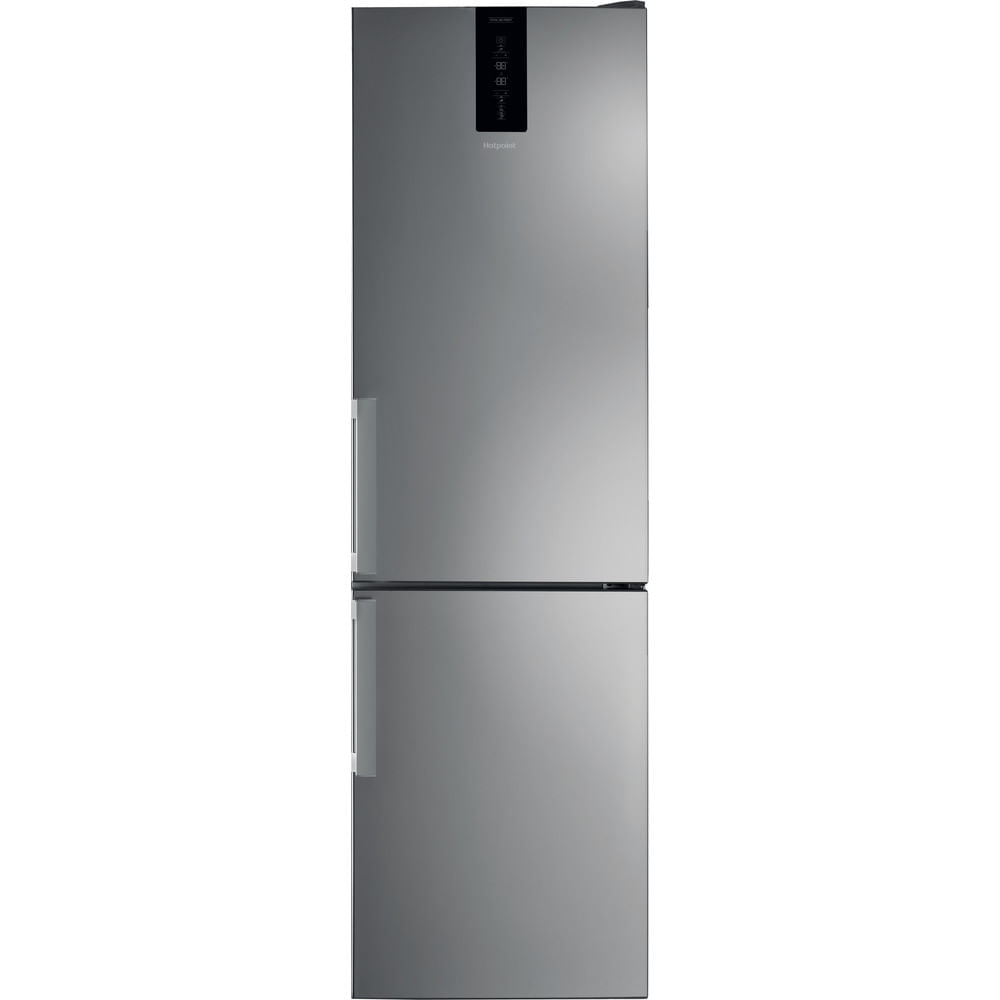 Hotpoint Freestanding fridge freezer H7T 911T MX H : discover the specifications of our home appliances and bring the innovation into your house and family.