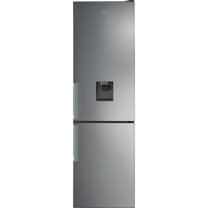 Hotpoint-Fridge-Freezer-Free-standing-H7T-911A-MX-H-AQUA-Mirror-Inox-2-doors-Frontal