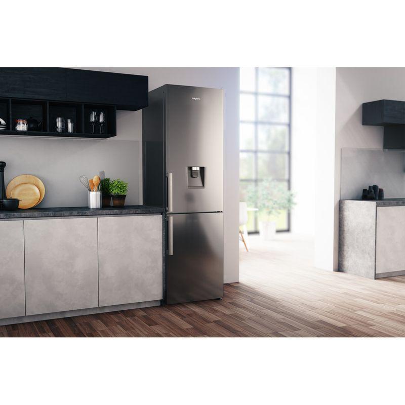 Hotpoint-Fridge-Freezer-Free-standing-H7T-911A-MX-H-AQUA-Mirror-Inox-2-doors-Lifestyle-perspective