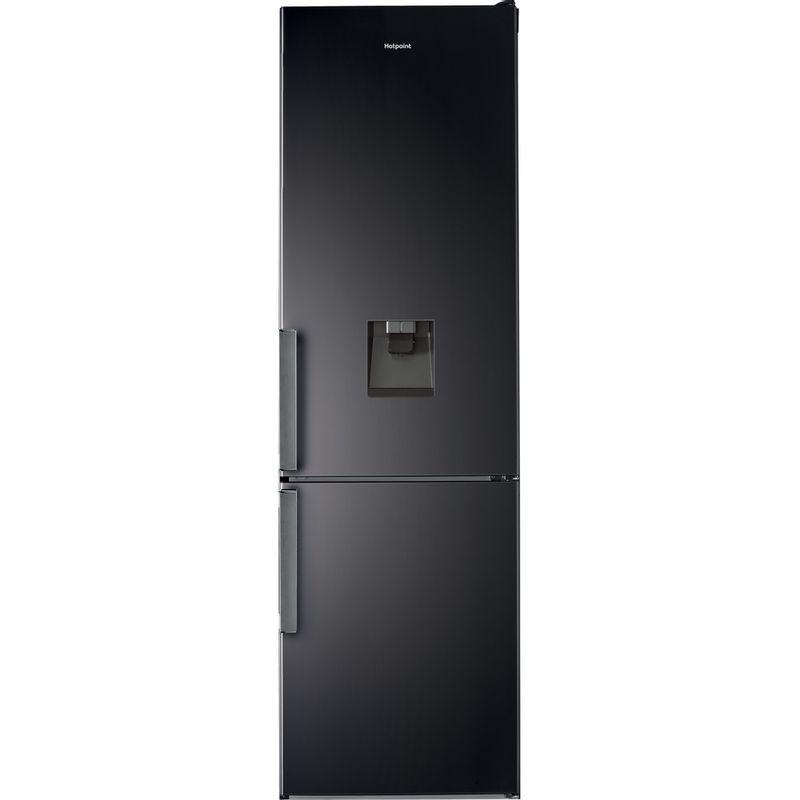 Hotpoint-Fridge-Freezer-Free-standing-H7T-911A-KS-H-AQUA-Black-Inox-2-doors-Frontal
