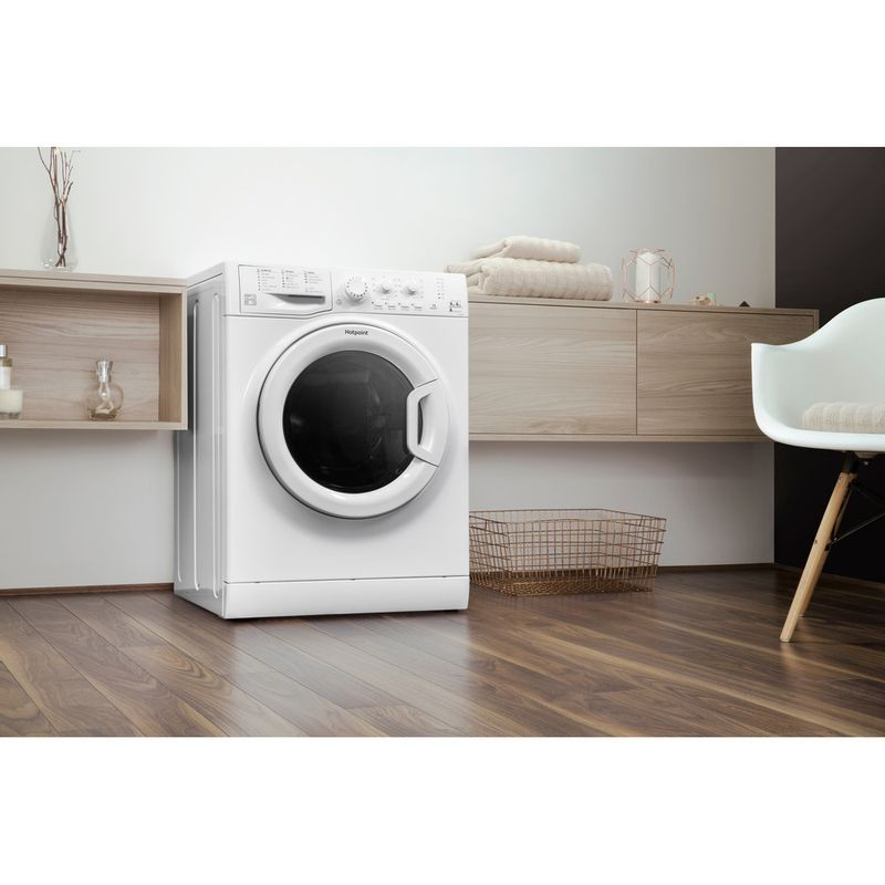 Hotpoint-Washer-dryer-Free-standing-FDEU-9640-P-UK-White-Front-loader-Lifestyle-perspective