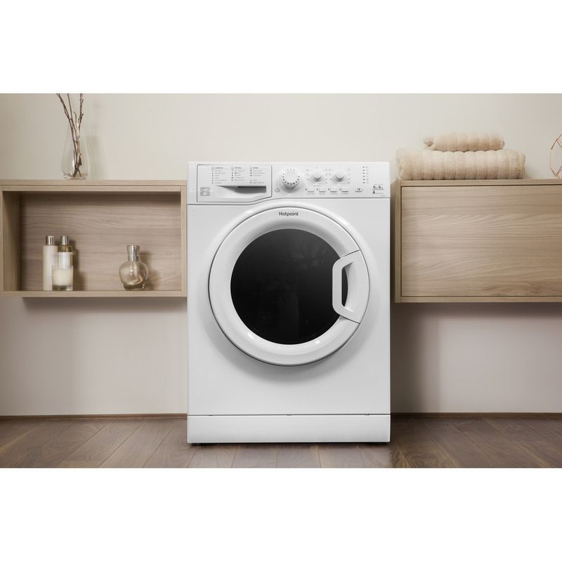 Hotpoint-Washer-dryer-Free-standing-FDEU-9640-P-UK-White-Front-loader-Lifestyle-frontal