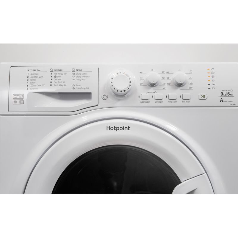 Hotpoint-Washer-dryer-Free-standing-FDEU-9640-P-UK-White-Front-loader-Lifestyle-control-panel
