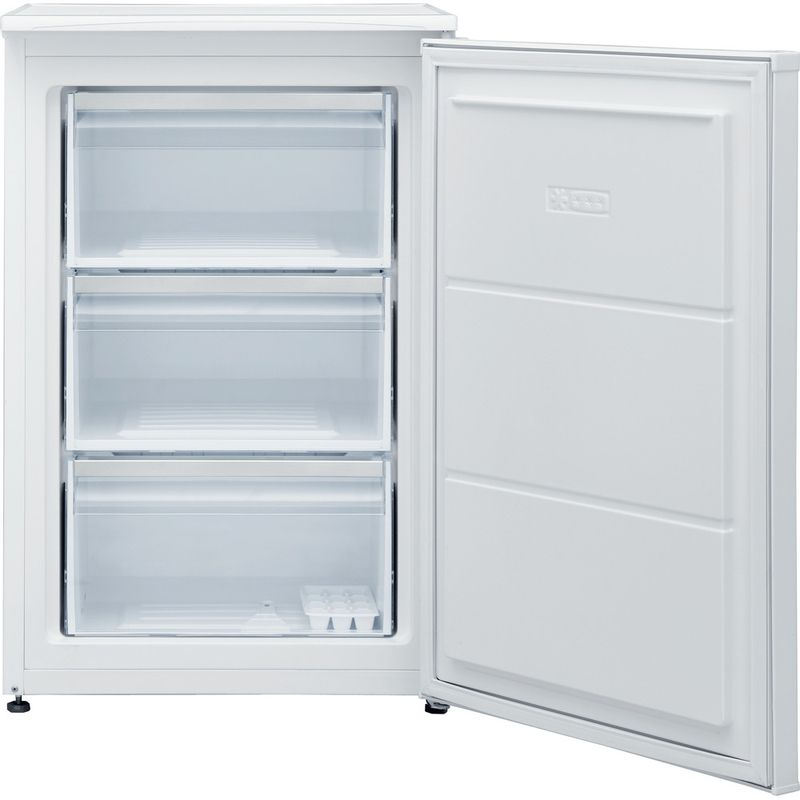 Hotpoint-Freezer-Free-standing-H55ZM-1110-W-UK-White-Frontal-open