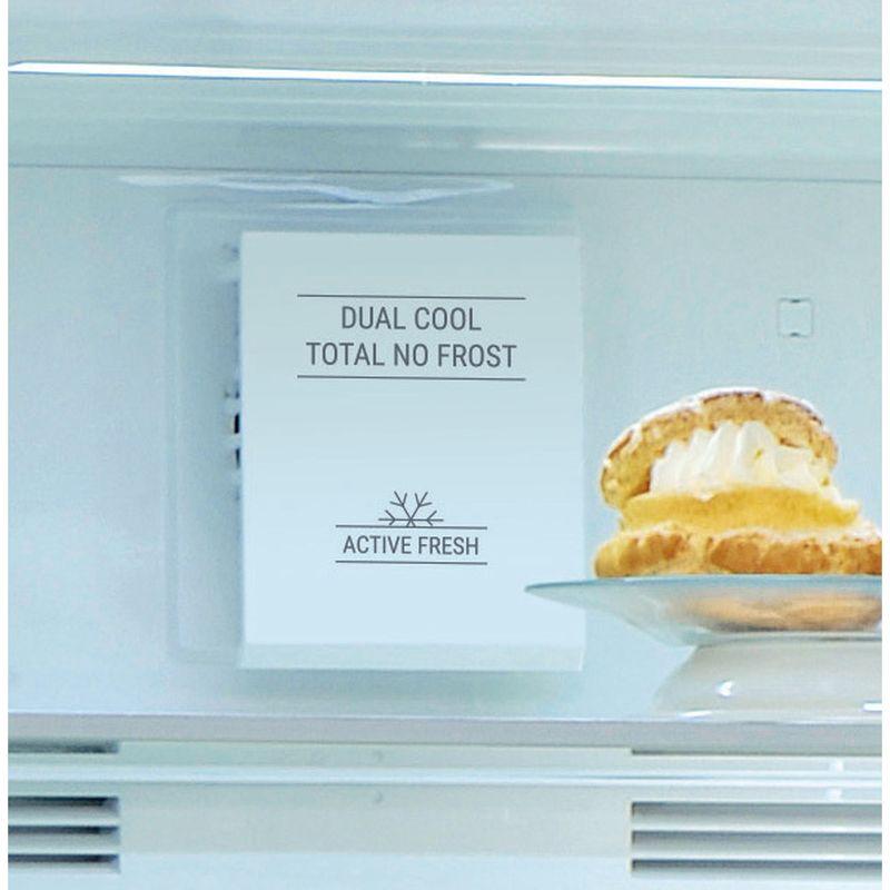 Hotpoint-Fridge-Freezer-Free-standing-H84BE-72-XO3-UK-Inox-2-doors-Filter
