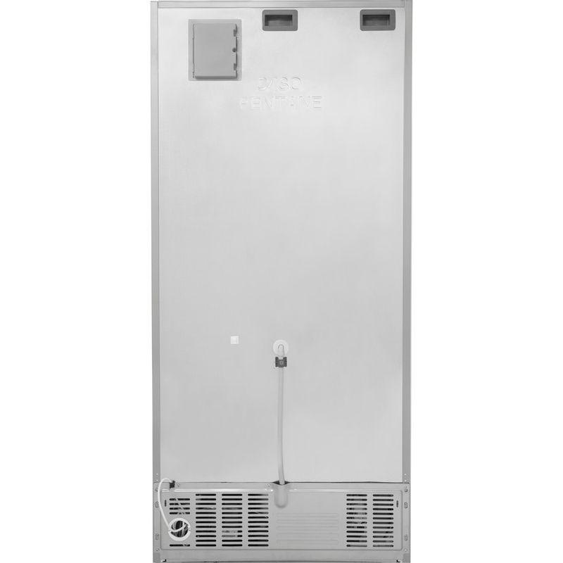 Hotpoint-Fridge-Freezer-Free-standing-H84BE-72-XO3-UK-Inox-2-doors-Back---Lateral