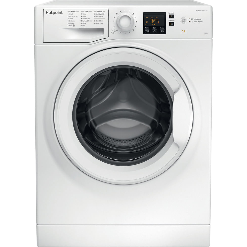 Hotpoint Freestanding Washing Machine NSWM 863C W UK : discover the specifications of our home appliances and bring the innovation into your house and family.