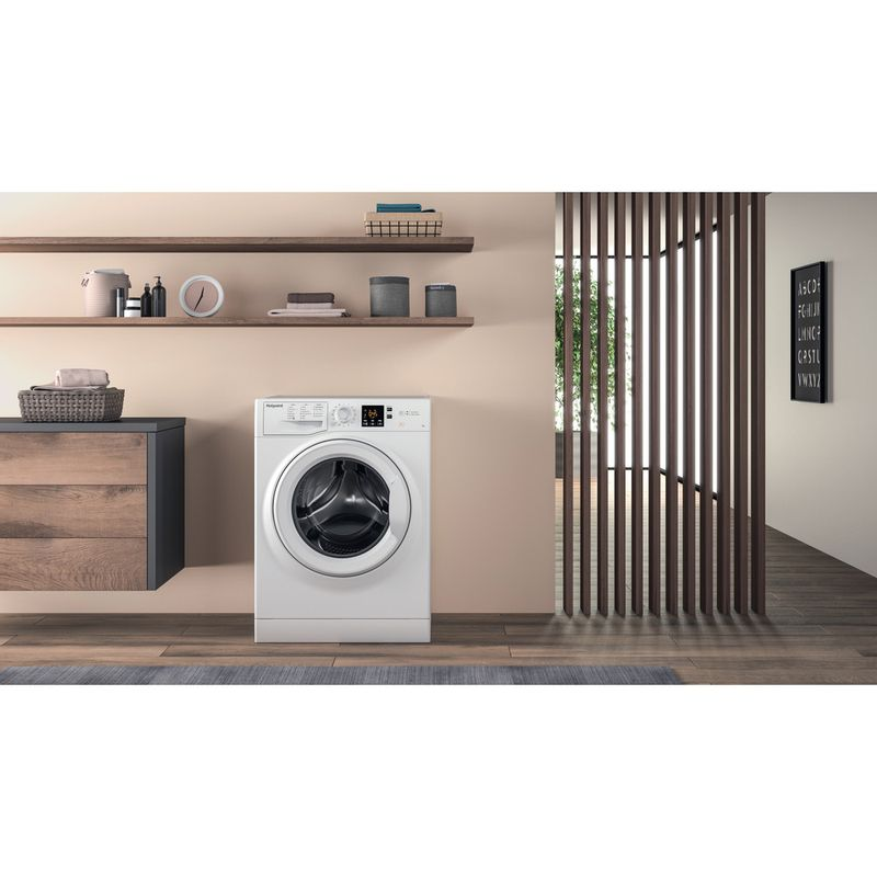Hotpoint-Washing-machine-Free-standing-NSWR-843C-WK-UK-White-Front-loader-A----Lifestyle-frontal