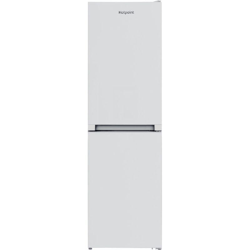 Hotpoint-Fridge-Freezer-Free-standing-HBNF-55181-W-UK-White-2-doors-Frontal