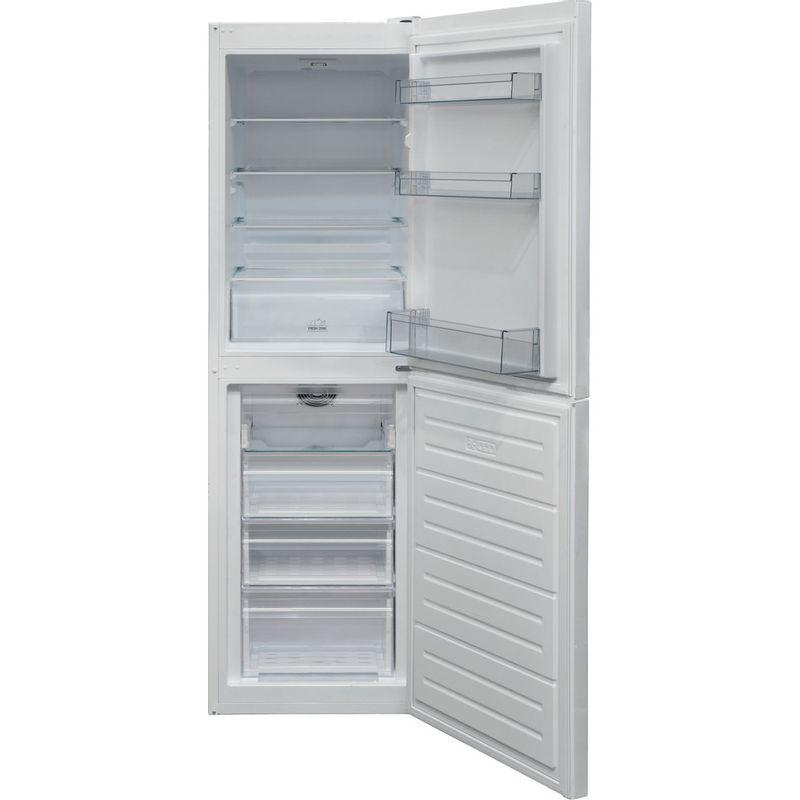 Hotpoint-Fridge-Freezer-Free-standing-HBNF-55181-W-UK-White-2-doors-Frontal-open