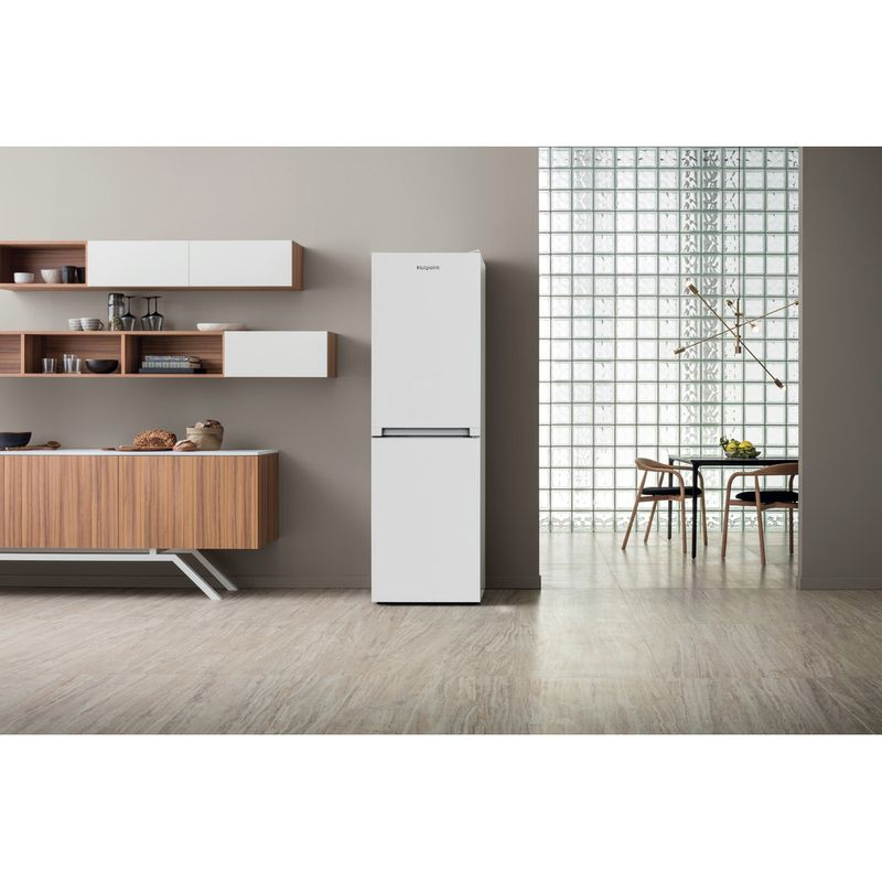 Hotpoint-Fridge-Freezer-Free-standing-HBNF-55181-W-UK-White-2-doors-Lifestyle-frontal
