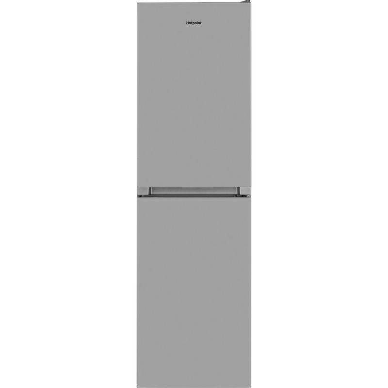 Hotpoint-Fridge-Freezer-Free-standing-HBNF-55181-S-UK-Silver-2-doors-Frontal