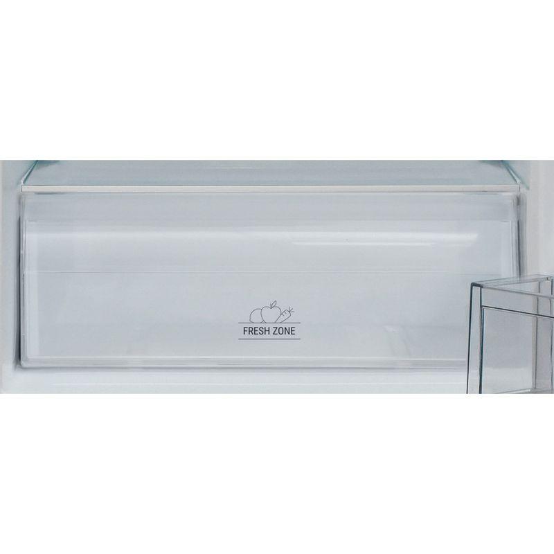 Hotpoint-Fridge-Freezer-Free-standing-HBNF-55181-S-UK-Silver-2-doors-Drawer