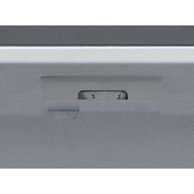 Hotpoint-Fridge-Freezer-Free-standing-HBNF-55181-S-UK-Silver-2-doors-Control-panel