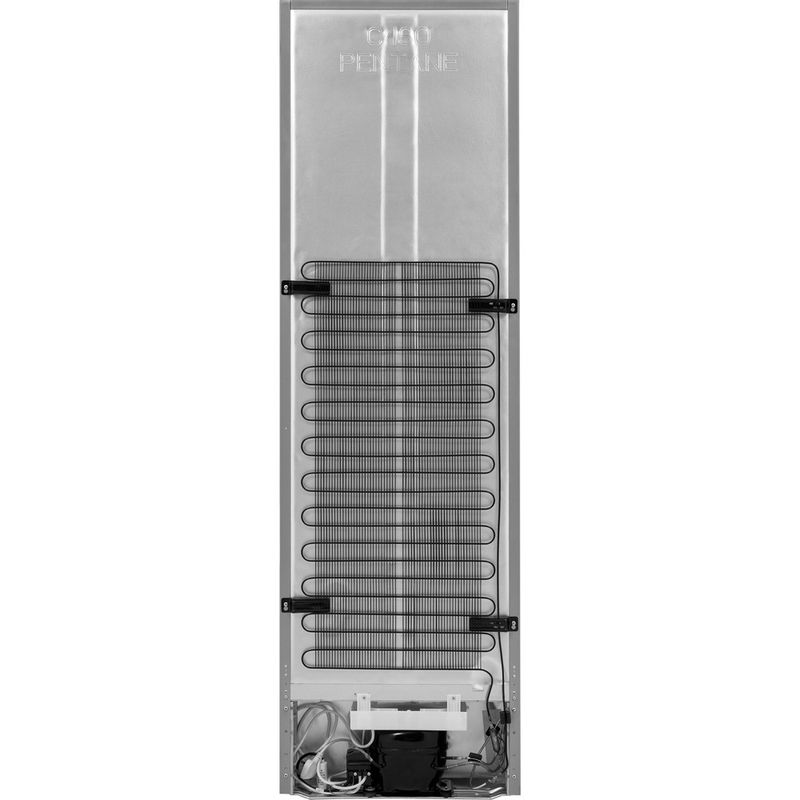 Hotpoint-Fridge-Freezer-Free-standing-HBNF-55181-S-UK-Silver-2-doors-Back---Lateral