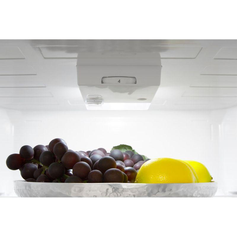 Hotpoint-Fridge-Freezer-Free-standing-HBNF-55181-S-AQUA-UK-Silver-2-doors-Lifestyle-control-panel