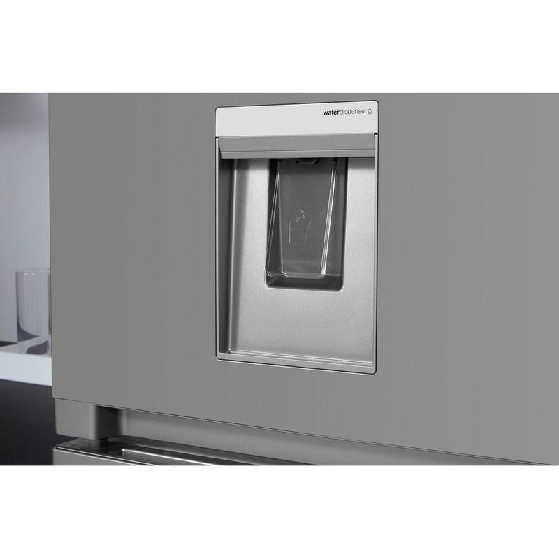 Hotpoint-Fridge-Freezer-Free-standing-HBNF-55181-S-AQUA-UK-Silver-2-doors-Lifestyle-detail