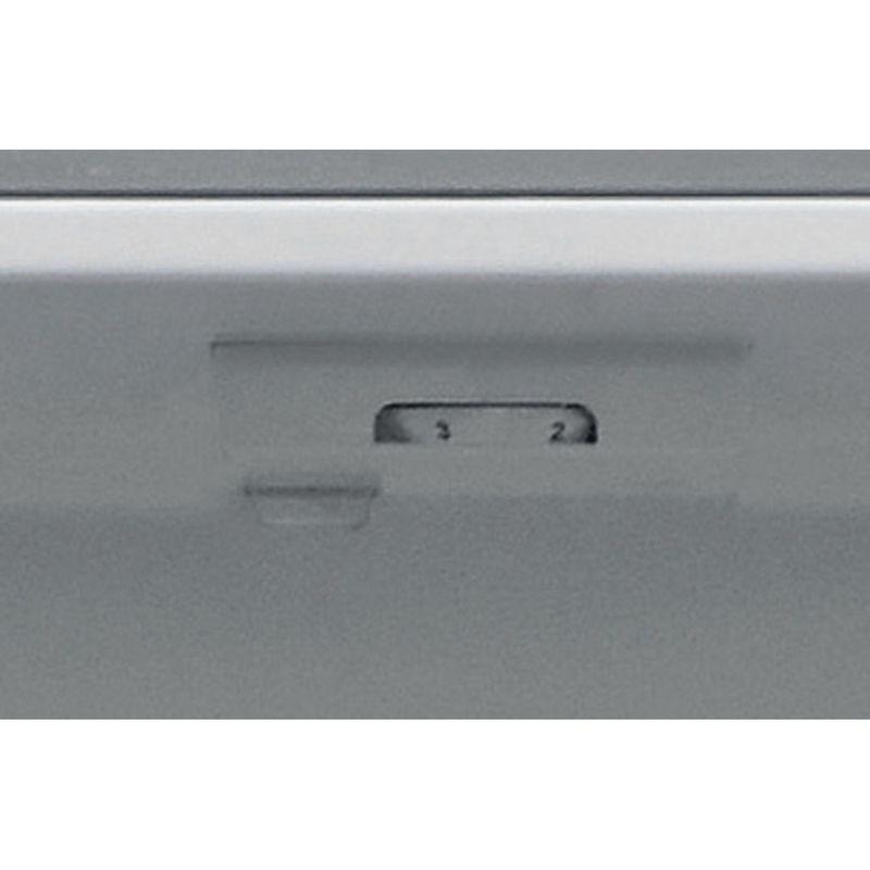 Hotpoint-Fridge-Freezer-Free-standing-HBNF-55181-S-AQUA-UK-Silver-2-doors-Control-panel