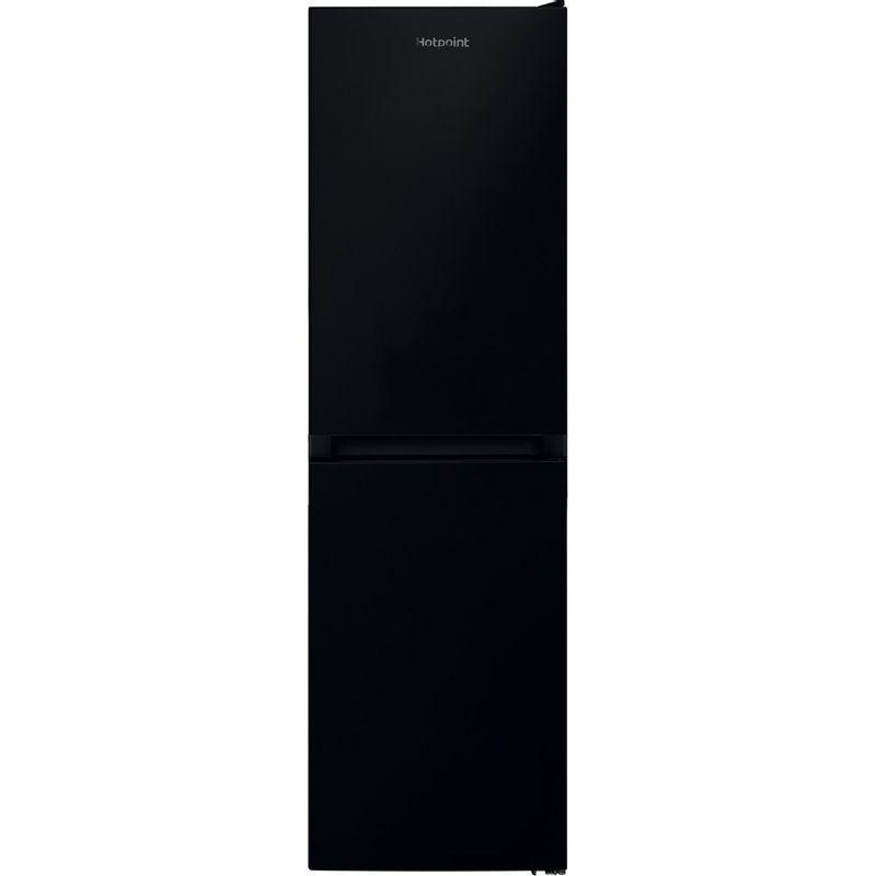 Hotpoint-Fridge-Freezer-Free-standing-HBNF-55181-B-UK-Black-2-doors-Frontal
