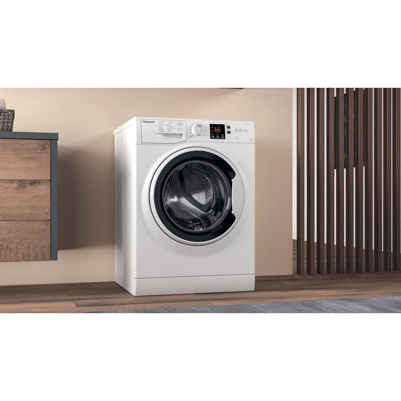 Hotpoint-Washing-machine-Free-standing-NSWA-843C-WW-UK-White-Front-loader-A----Lifestyle_Perspective