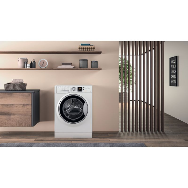 Hotpoint-Washing-machine-Free-standing-NSWA-963C-WW-UK-White-Front-loader-A----Lifestyle_Frontal
