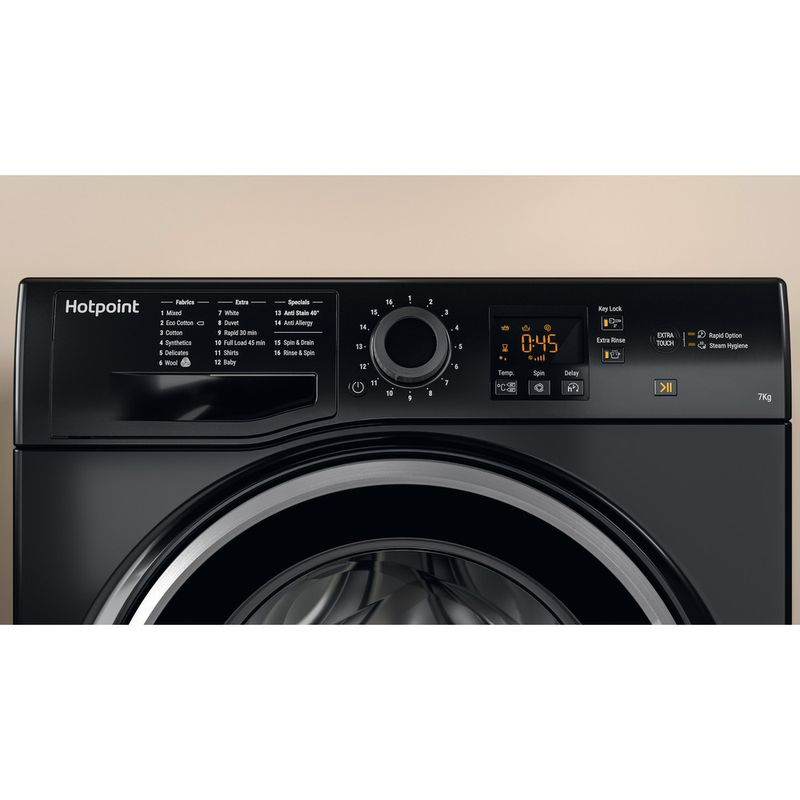 Hotpoint-Washing-machine-Free-standing-NSWF-743U-BS-UK-Black-Front-loader-A----Lifestyle_Control_Panel