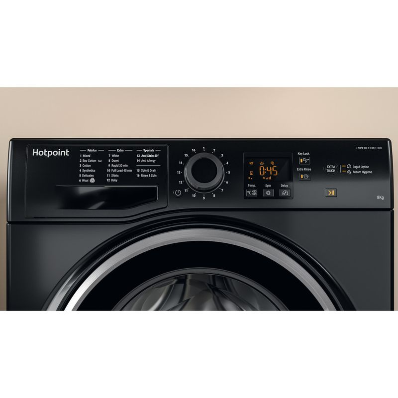 Hotpoint-Washing-machine-Free-standing-NSWM-843C-BS-UK-Black-Front-loader-A----Lifestyle-control-panel