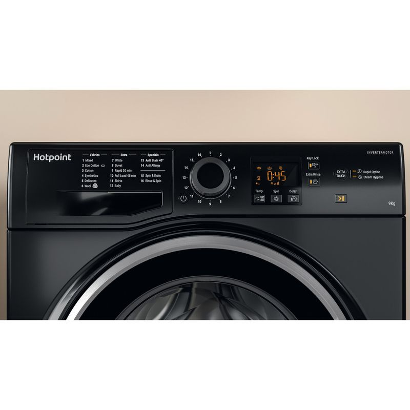 Hotpoint-Washing-machine-Free-standing-NSWF-943C-BS-UK-Black-Front-loader-A----Lifestyle_Control_Panel