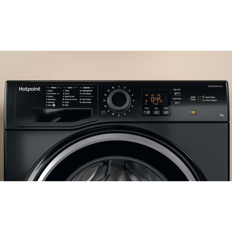 Hotpoint-Washing-machine-Free-standing-NSWM-963C-BS-UK-Black-Front-loader-A----Lifestyle_Control_Panel