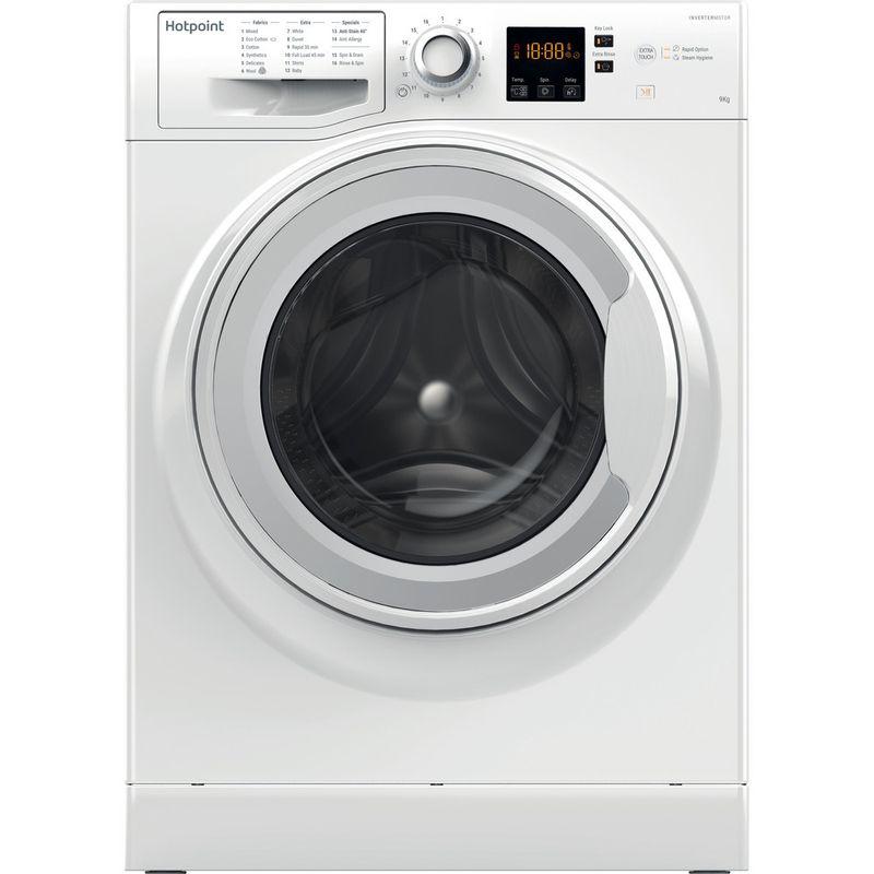 Hotpoint-Washing-machine-Free-standing-NSWJ-942C-W-UK-White-Front-loader-A---Frontal