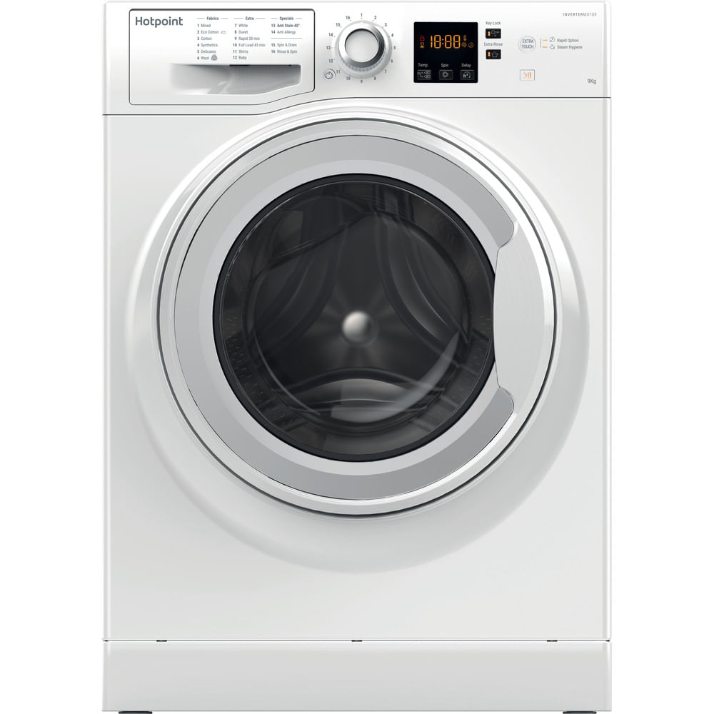 Hotpoint Freestanding Washing Machine NSWJ 942C W UK : discover the specifications of our home appliances and bring the innovation into your house and family.